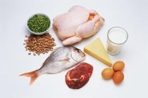 рыба и мясо по дюкану
