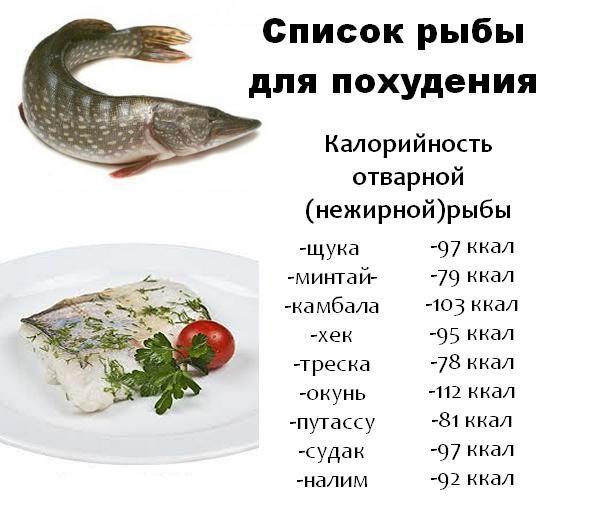 Нежирная Рыба Для Диеты После Операции