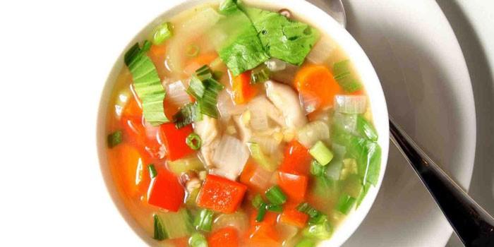 Рецепт супа для похудения полины гагариной